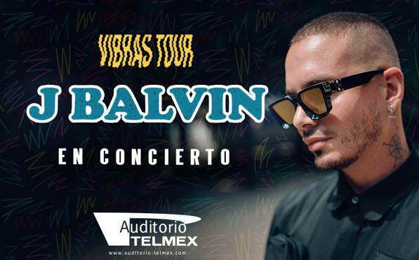 J Balvin en concierto 07 de Diciembre Auditorio Telmex
