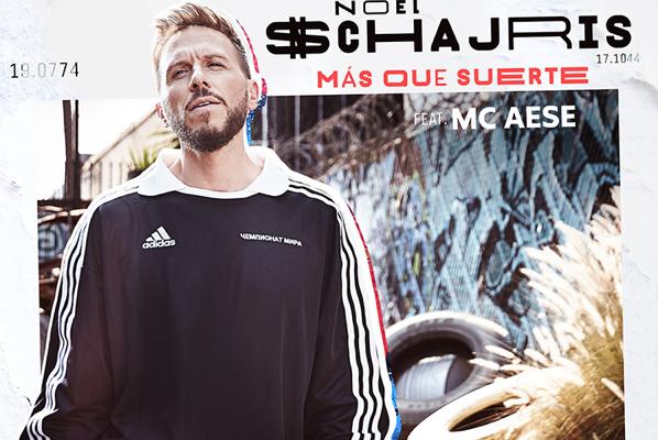 """Noel Schajris lanza su nuevo sencillo """"Más Que Suerte"""" ft. Mc Aese"""