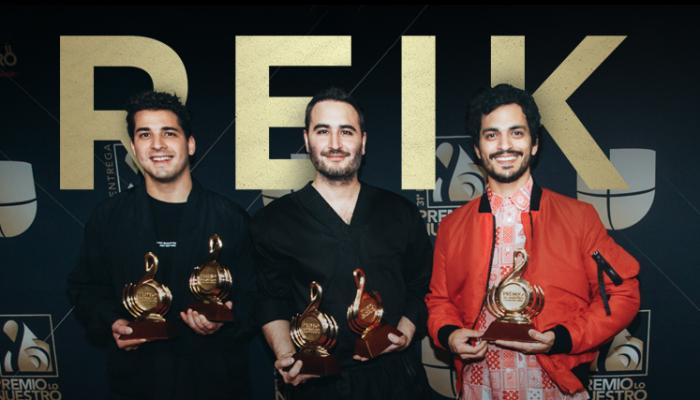 REIK se lleva la noche de Premio Lo Nuestro 2019