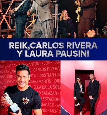 Reik, Carlos Rivera y Laura Pausini Triunfan en Premios Dial