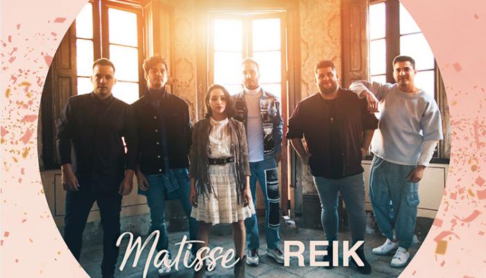 """Matisse presenta """"Eres Tú"""" su nueva canción junto a Reik."""