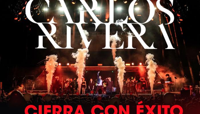 Carlos Rivera Cierra con éxito gira en España