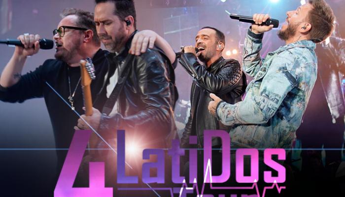 4 LATIDOS Tour Enloquece a la Arena Ciudad de México
