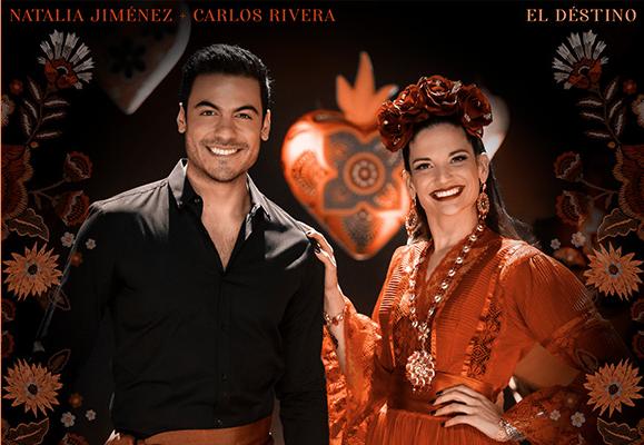 """Natalia Jiménez lanza """"El Destino"""" a dueto con Carlos Rivera"""