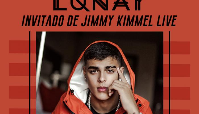 Lunay invitado de Jimmy Kimmel Live