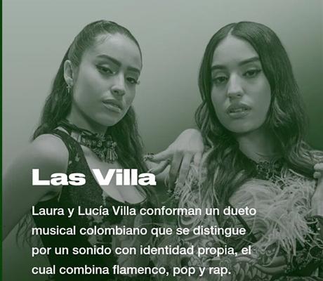 """Las Villa lanza """"Nadita Live Session"""""""