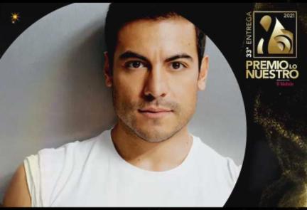 Carlos Rivera con 3 nominaciones a Premio Lo Nuestro 2021
