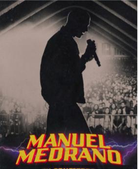 Manuel Medrano tendrá concierto virtual