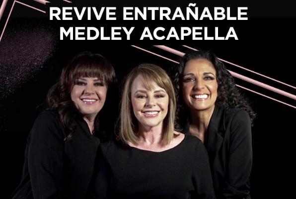 Pandora revive entrañable medley acapella
