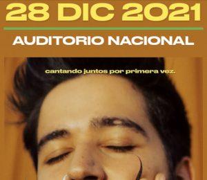 Camilo en concierto 28 de diciembre Auditorio Nacional