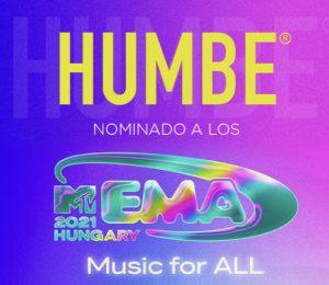 HUMBE nominado a los MTV EMA