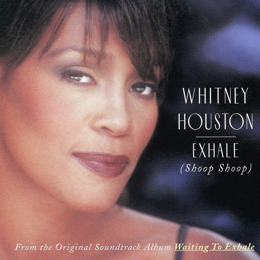 Whitney Houston - Exhale (Shoop Shoop) single front cover