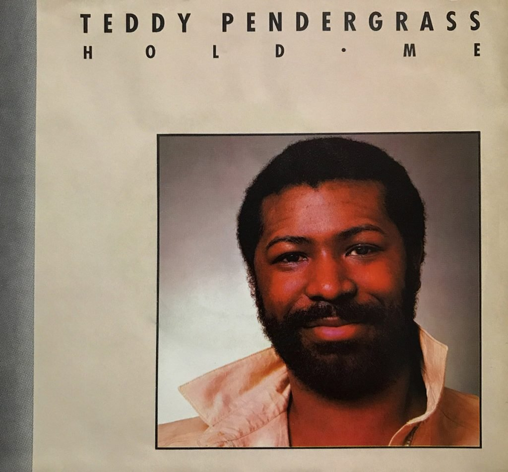 Teddy Pendergrass & Whitney Houston - Hold Me U.S. 7-inch vinyl single front cover
