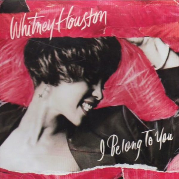Whitney Houston - I Belong To You U.S. promo CD front cover