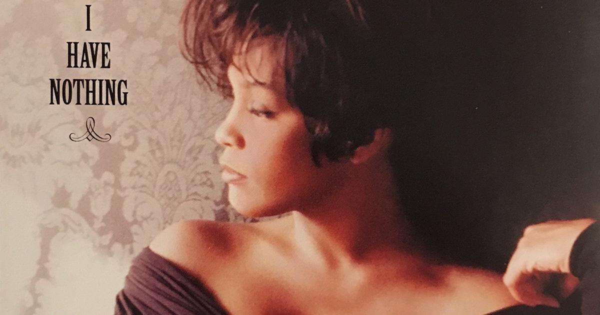 Whitney Houston - I Have Nothing single front cover
