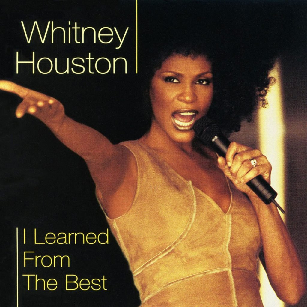 Whitney Houston - I Learned From The Best single front cover