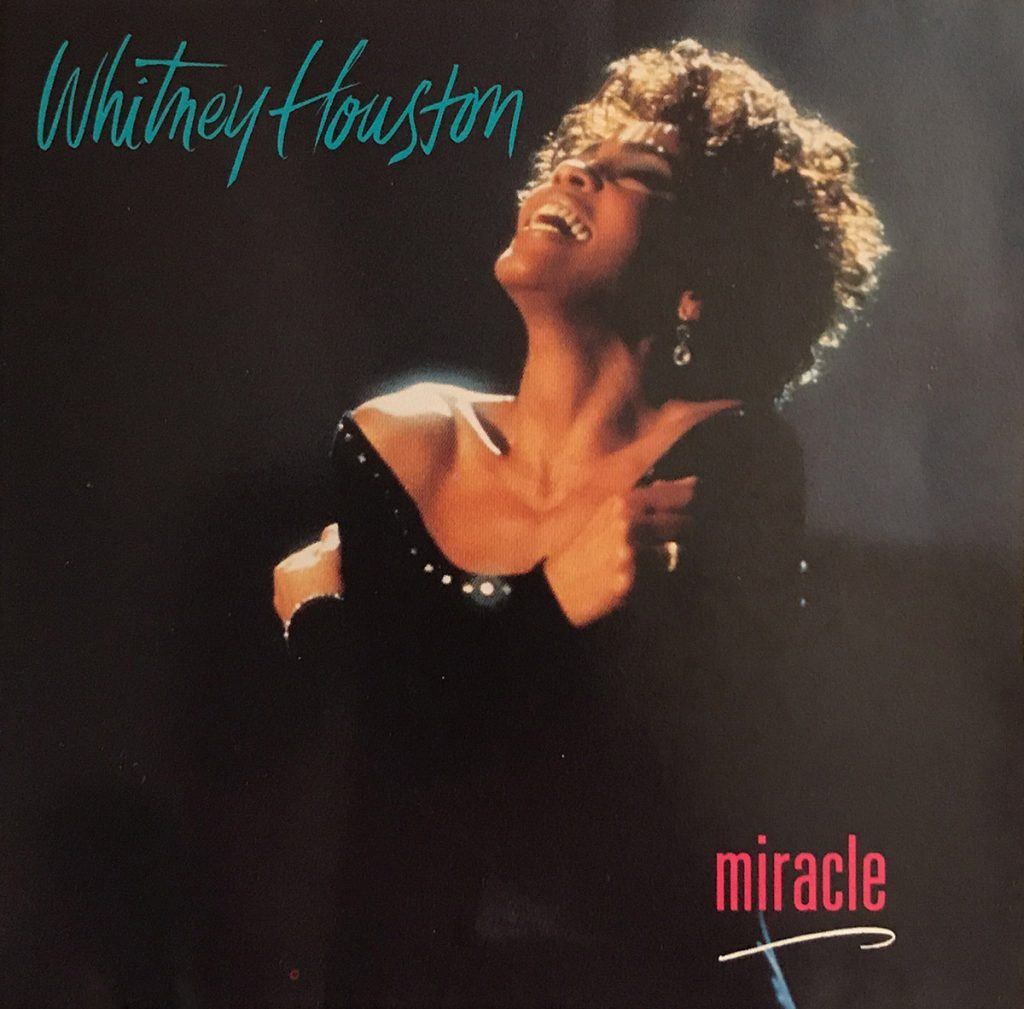 Whitney Houston - Miracle U.S. promo CD front cover