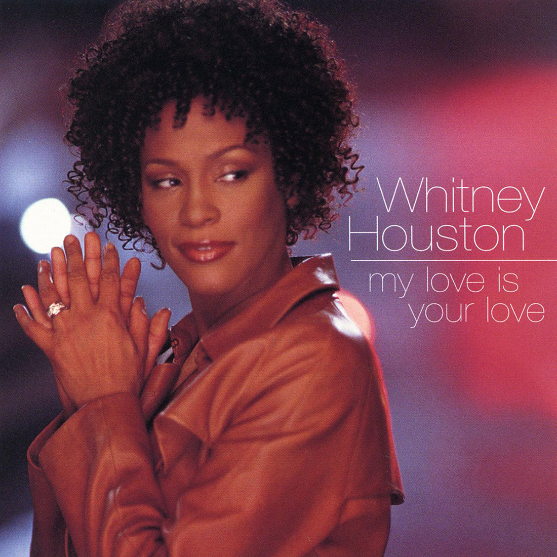 Whitney Houston - My Love Is Your Love single front cover
