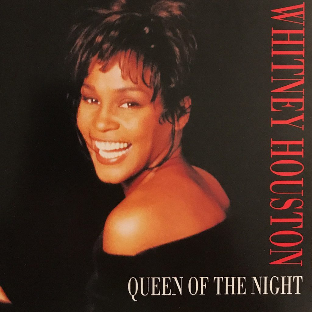 Whitney Houston - Queen Of The Night single front cover