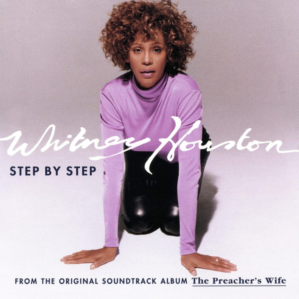 Whitney Houston - Step By Step single front cover
