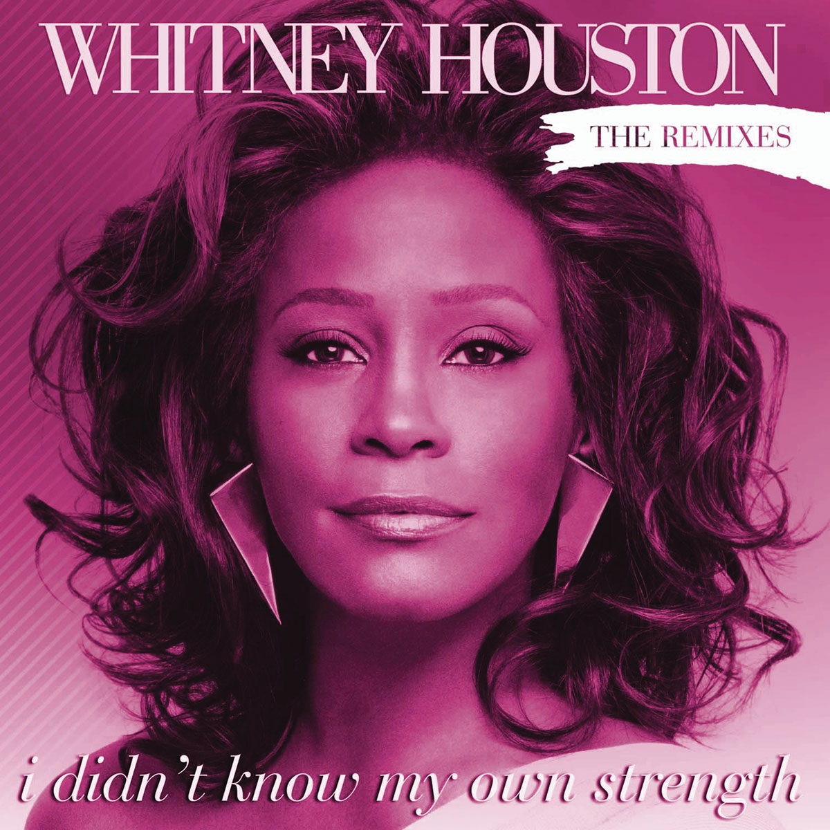 Whitney Houston - I Didn't Know My Own Strength front cover