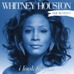 Whitney Houston - I Look To You single front cover