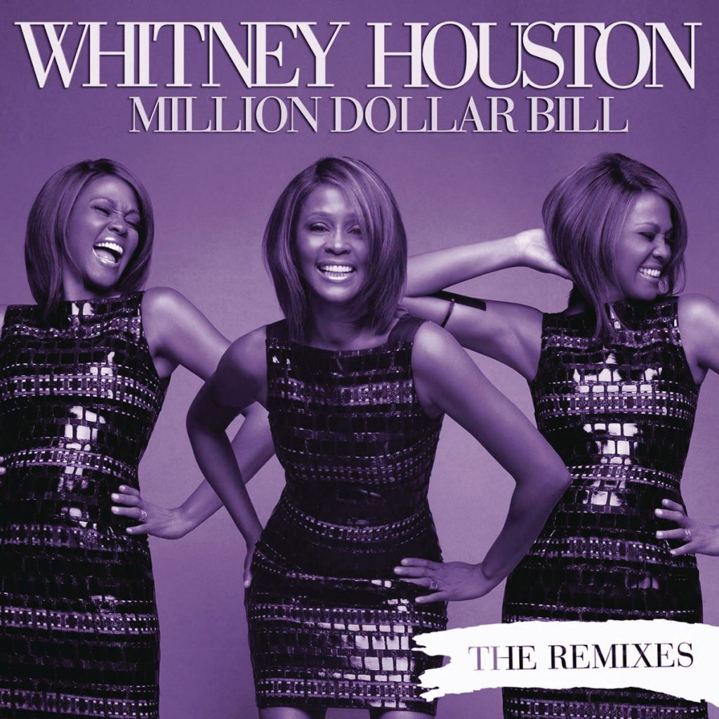 Whitney Houston - Million Dollar Bill single front cover
