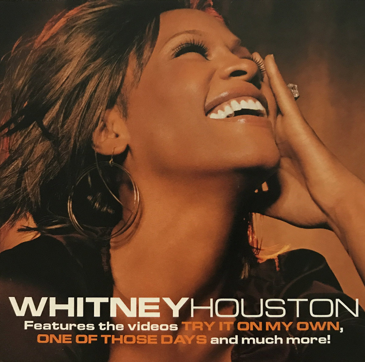 Whitney Houston - Try It On My Own DVD single front cover