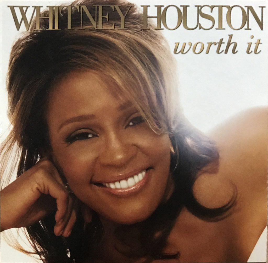 Whitney Houston - Worth It U.S. promo CD front cover