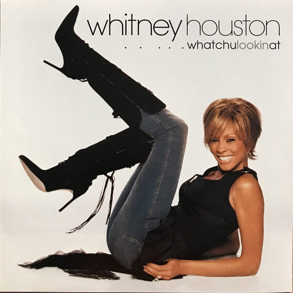 Whitney Houston - Whatchulookinat single front cover
