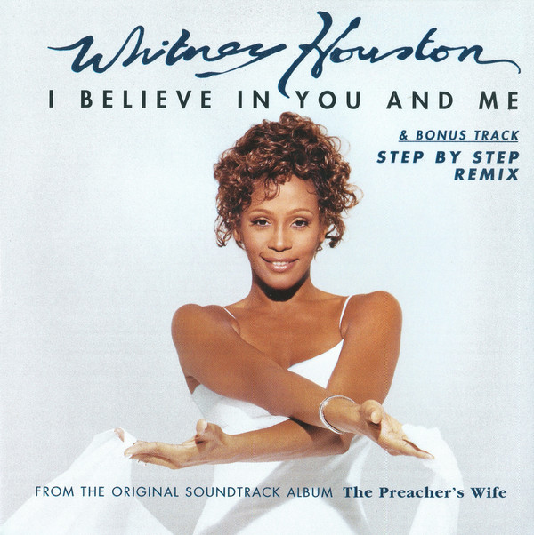 Whitney Houston - I Believe In You And Me single front cover