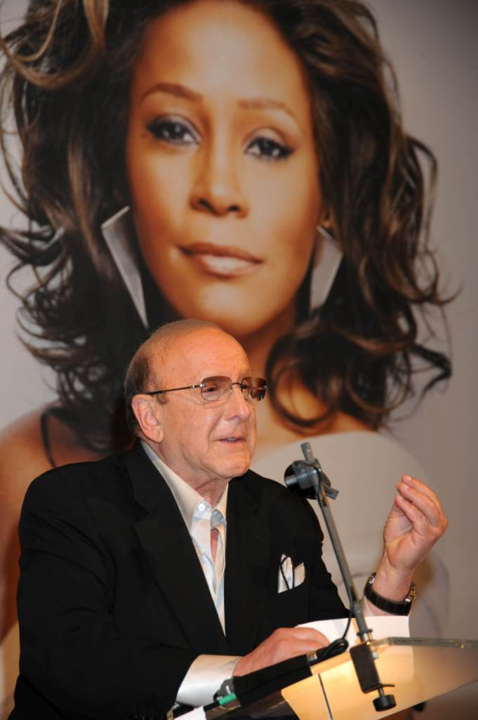 Clive Davis at Whitney Houston first listening party for album I Look To You at Mandarin Oriental Hotel in London, England July 14, 2009