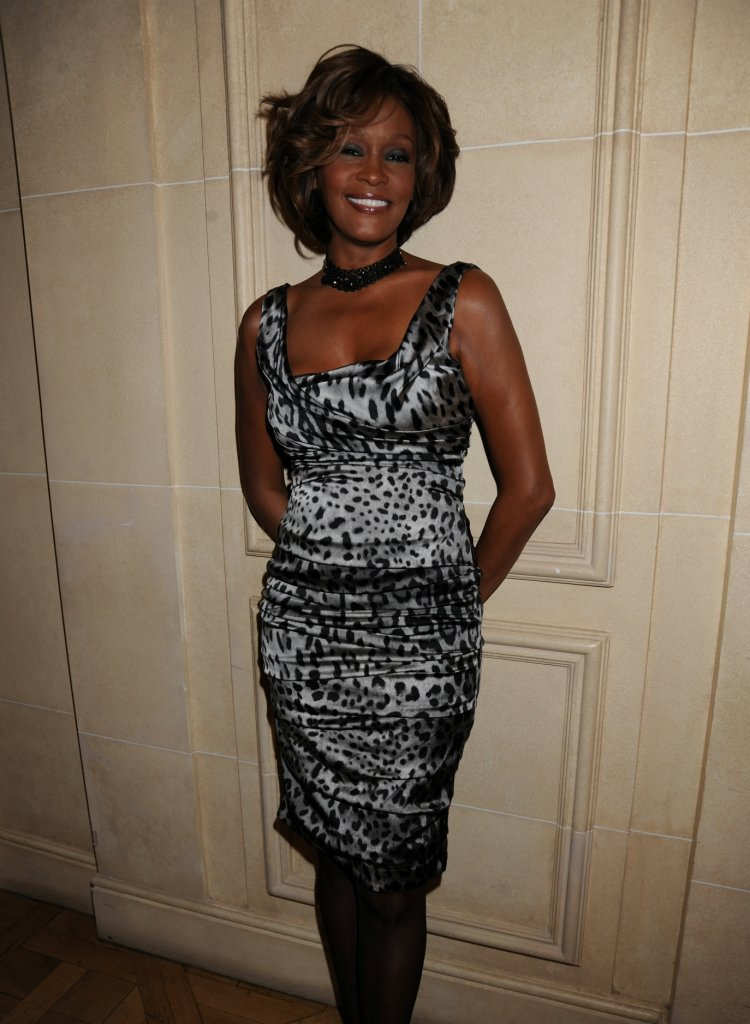 Whitney Houston first listening party for album I Look To You at Mandarin Oriental Hotel in London, England July 14, 2009