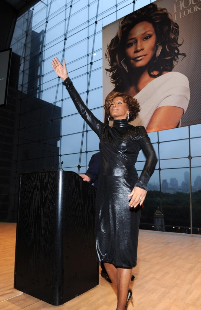 Whitney Houston second listening party for album I Look To You at Allen Room at Lincoln Center in New York, NY July 21, 2009