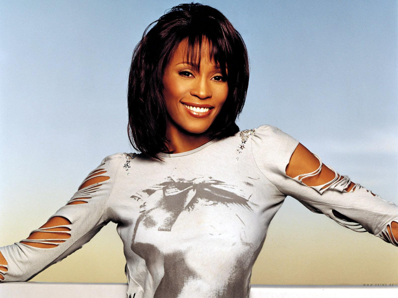 Whitney Houston One Of Those Days music video photo shoot