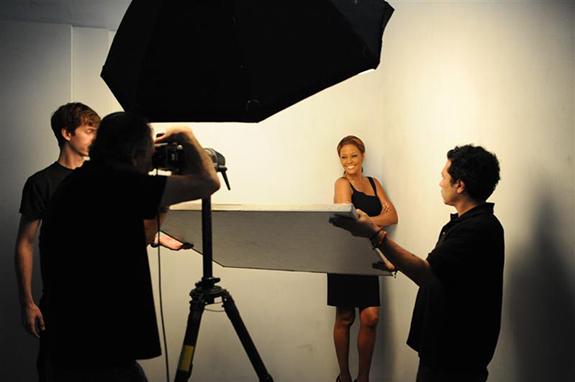 Whitney Houston I Look To You 2009 photo shoot