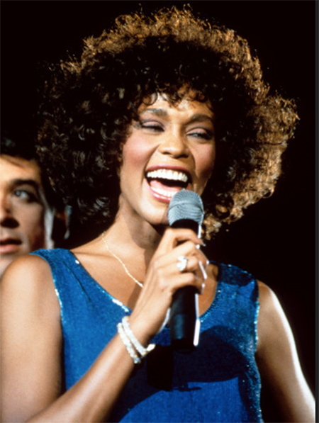whitney houston слушать