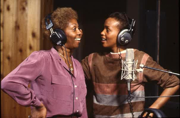 Cissy Houston and Whitney Houston