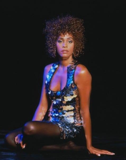Whitney Houston photo shoot Fame Magazine 1990