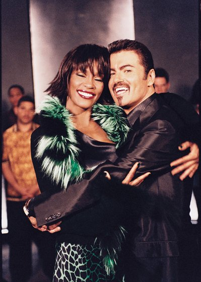 Whitney Houston and George Michael
