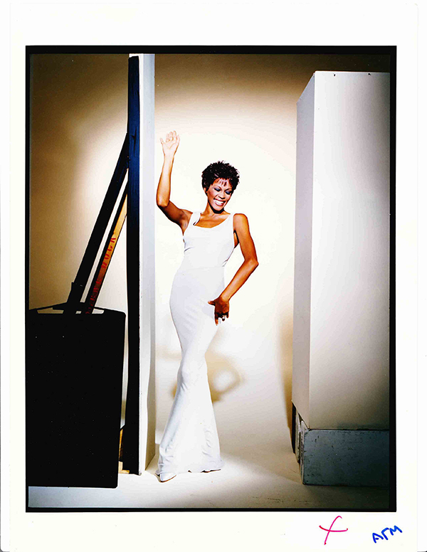 Whitney Houston 1997 Classic Whitney HBO concert poster outtake
