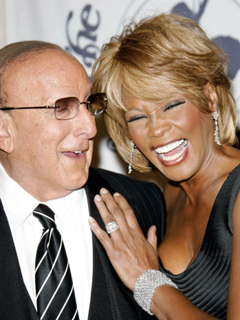 Whitney Houston and Clive Davis at 17th Carousel of Hope Ball in Beverly Hills, CA on October 28, 2006