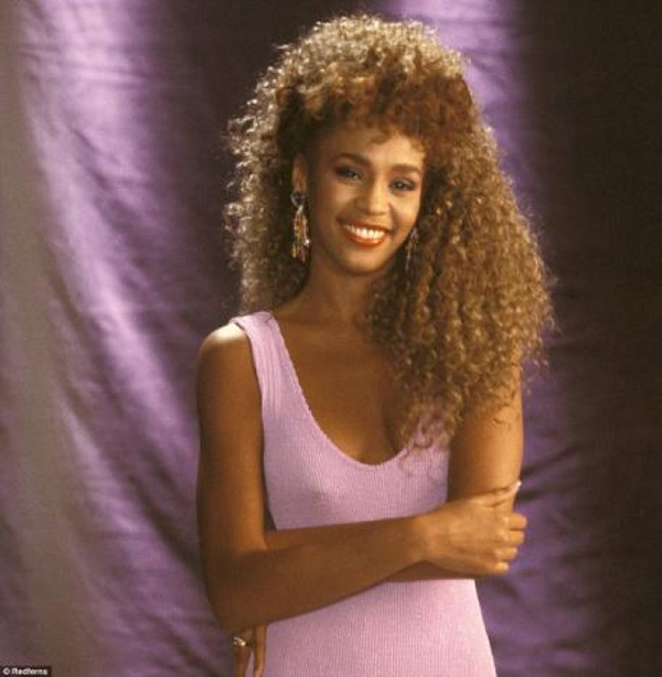 Whitney Houston I Wanna Dance With Somebody (Who Loves Me) music video shoot