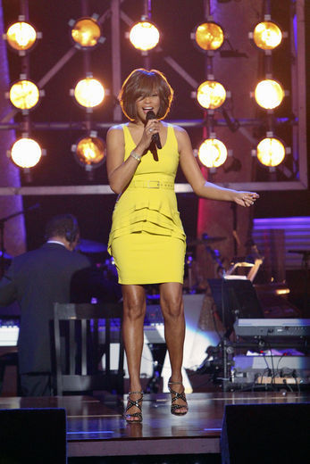 Whitney Houston on Dancing With The Stars 2009