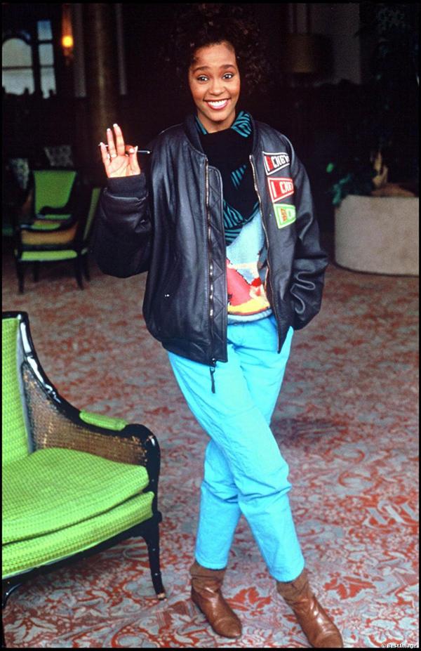 Whitney Houston at Montreux Golden Rose Festival in 1987
