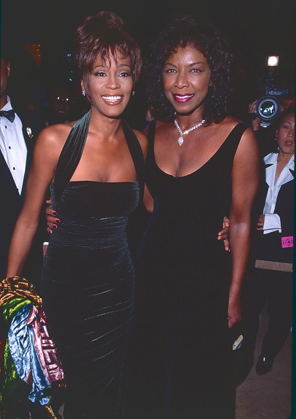 Whitney Houston and Natalie Cole