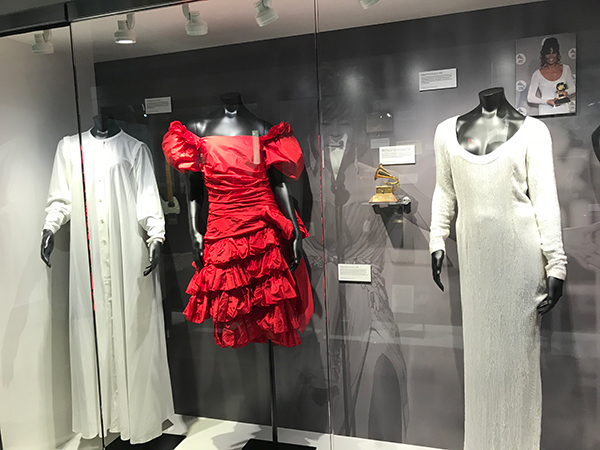 Whitney Houston exhibit at GRAMMY Museum Newark