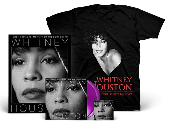 Whitney Houston I Wish You Love: More From The Bodyguard Album and T-shirt bundle