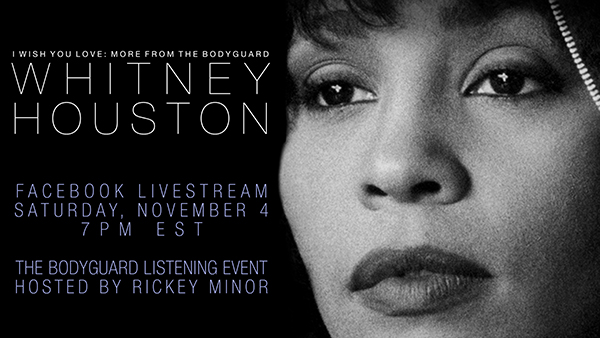 Whitney Houston Fountainebleau Listening Event Livestream November 4, 2017