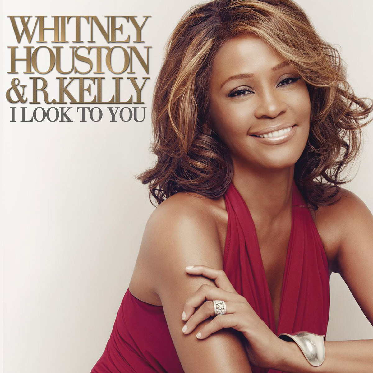 Whitney Houston and R. Kelly - I Look To You single front cover